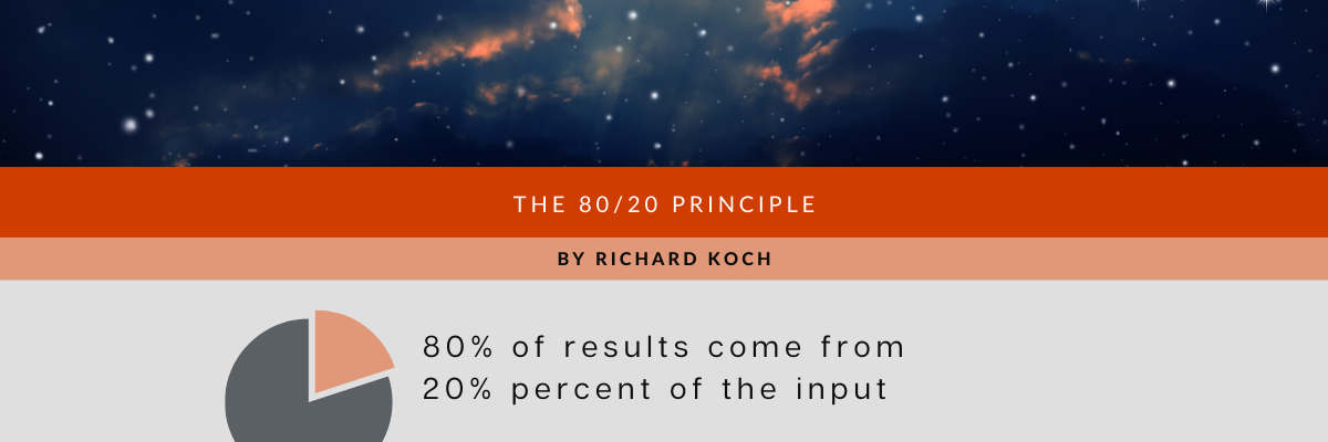 The 80/20 Principle is one of the Best Business Books of All Time