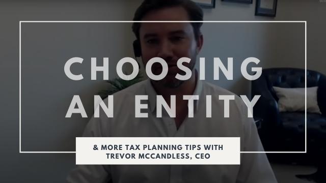Choosing a Tax Entity
