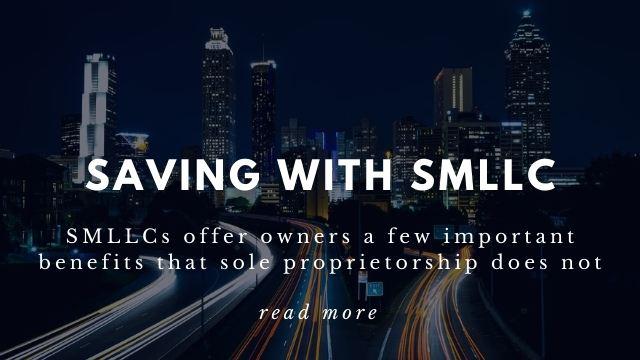 Saving with SMLLC Taxes