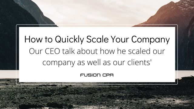 How to Quickly Scale Your Company with Outsourced Bookkeeping Services