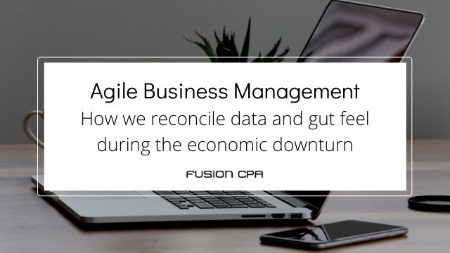 Outsourced bookkeeping services for agile execution in downturns